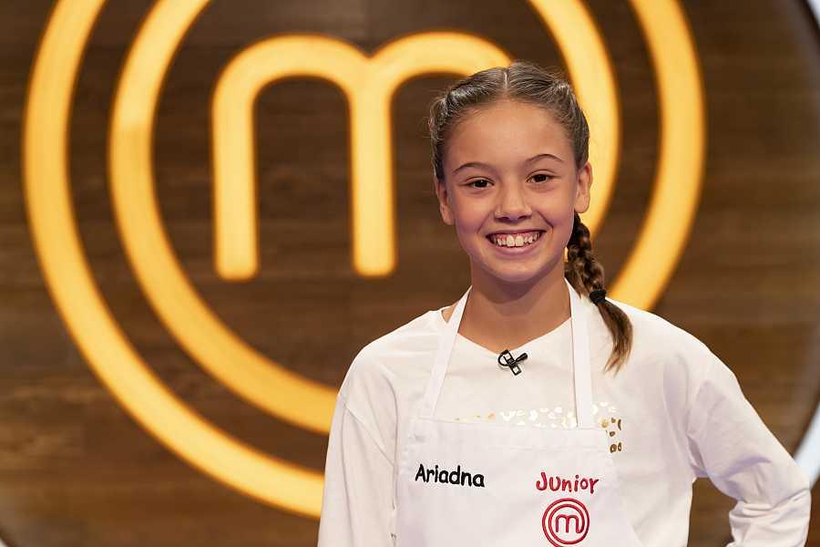 Ariadna, candidata a MasterChef Junior 8