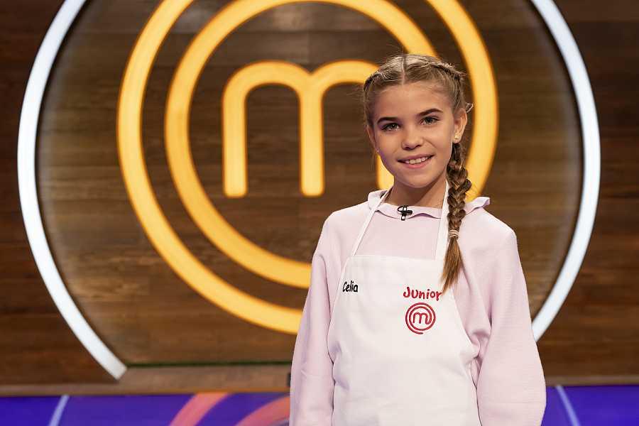 Celia, candidata a MasterChef Junior 8