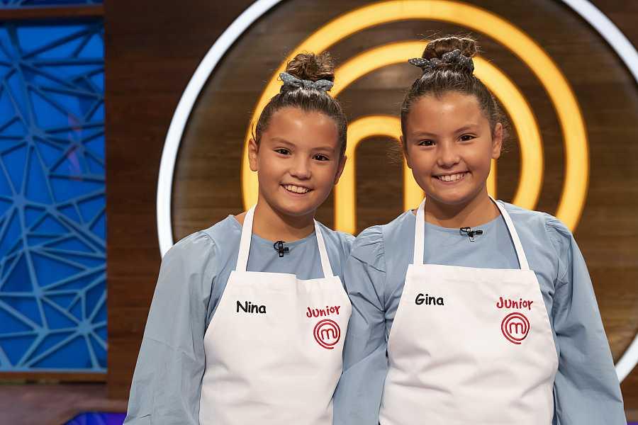 Gina y Nina, candidatas a MasterChef Junior 8