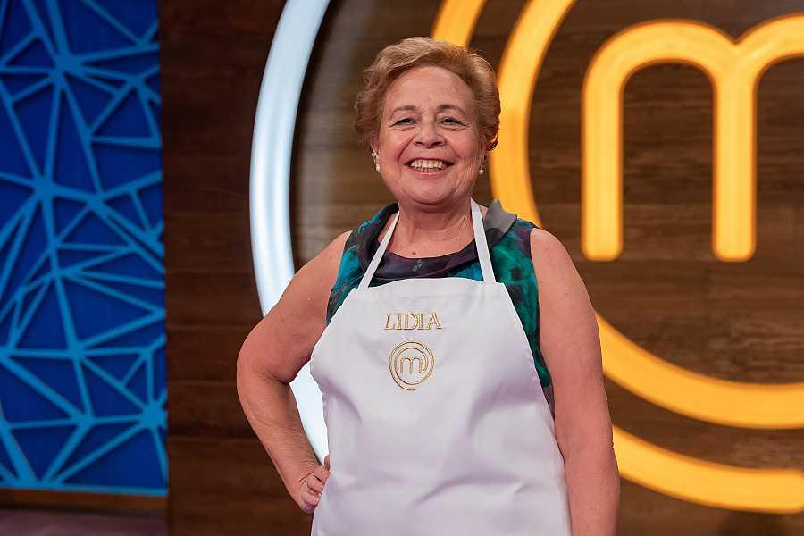 Lidia, concursante de MasterChef Abuelos