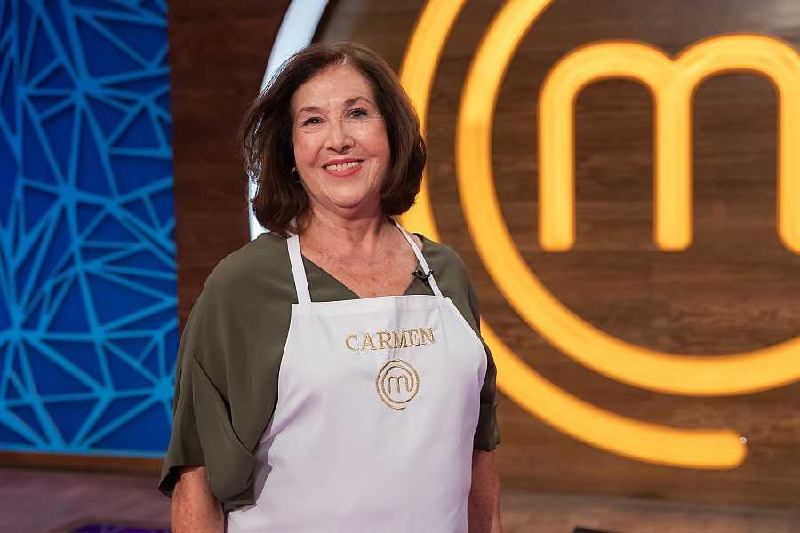 Carmen, concursante de MasterChef Abuelos