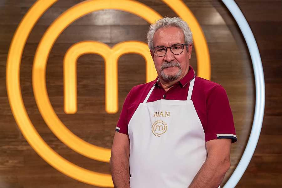 Juan, concursante de MasterChef Abuelos