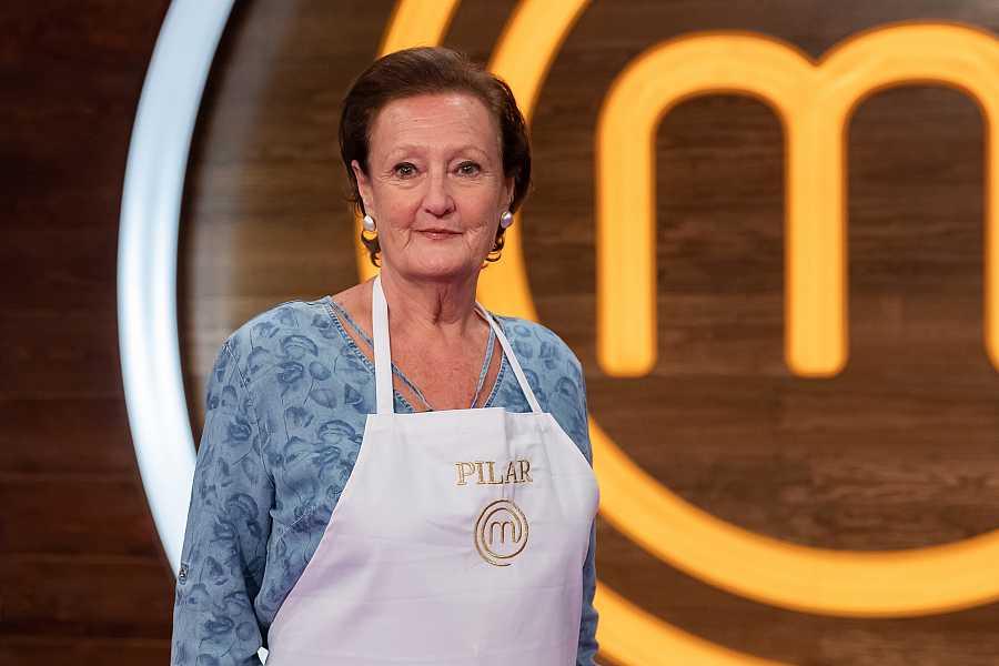 Pilar, concursante de MasterChef Abuelos