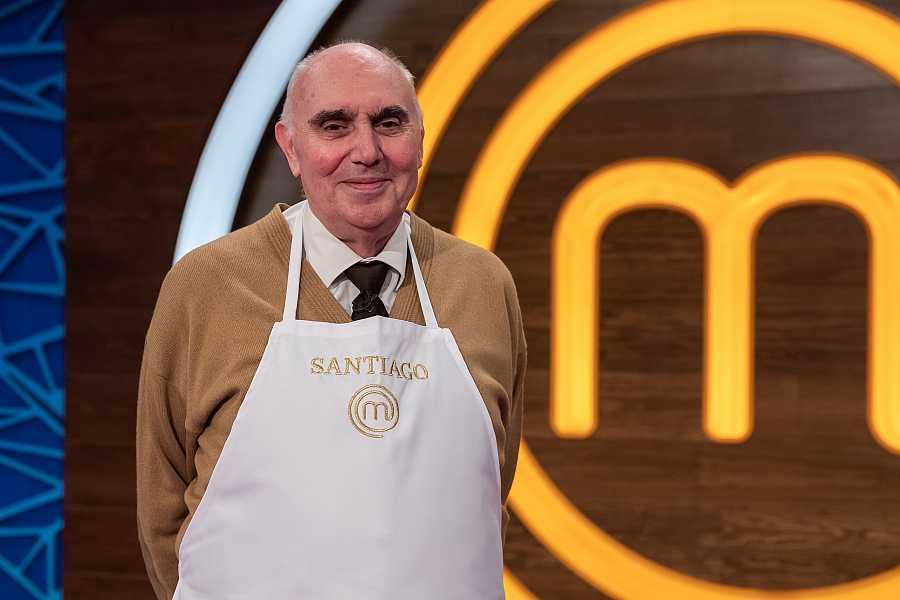 Santiago, concursante de MasterChef Abuelos