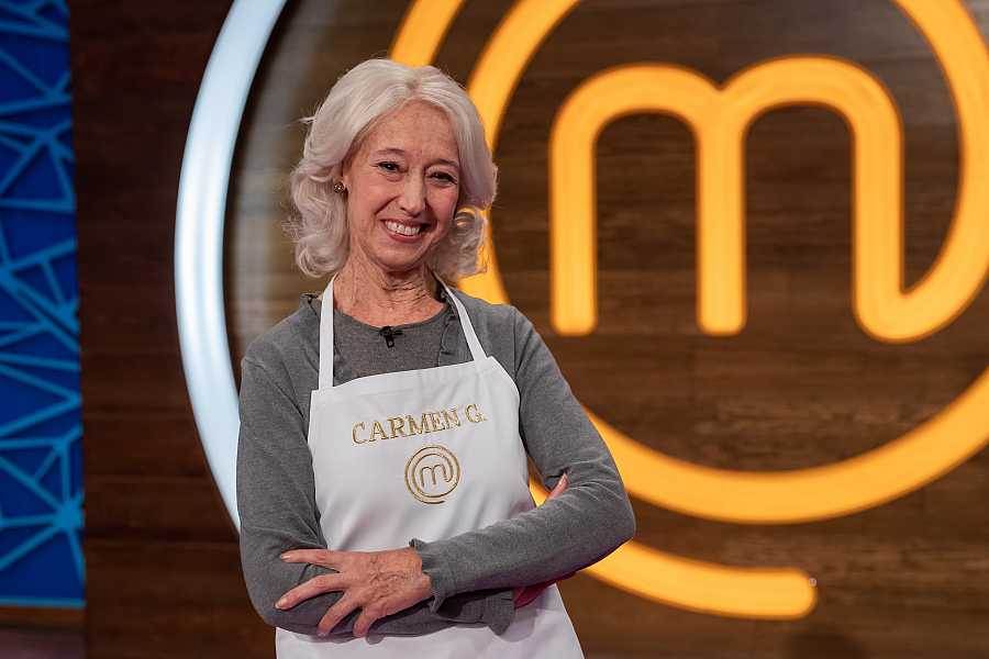 Carmen García, concursante de MasterChef Abuelos