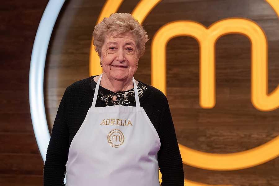 Aurelia, concursante de MasterChef Abuelos