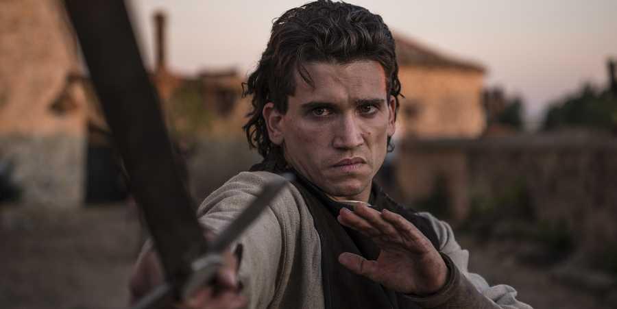 Jaime Lorente es Rodrigo Díaz de Vivar en 'El Cid'