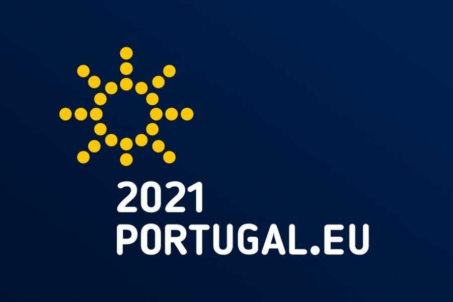 Logo de la Presidencia portuguesa de la UE