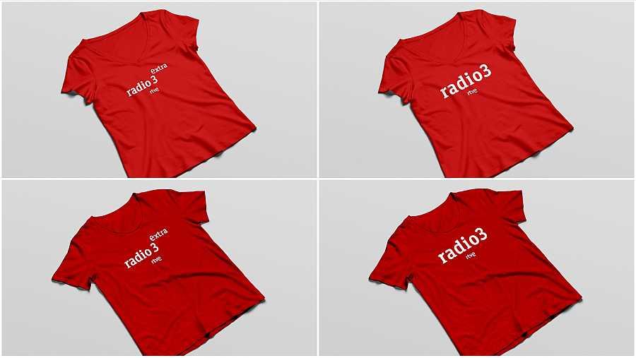 camiseta radio 3 extra