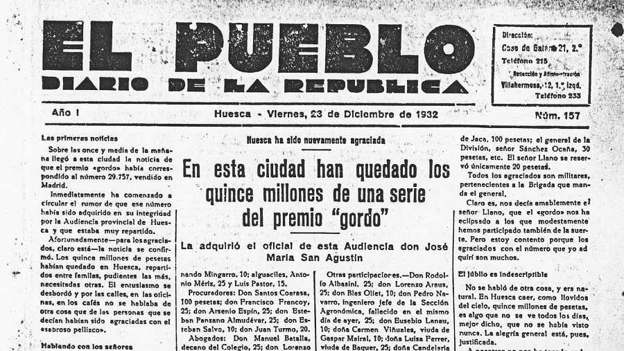 Los diarios de la época publicaban los nombres de los jugadores y la cantidad del premio que les correspondía
