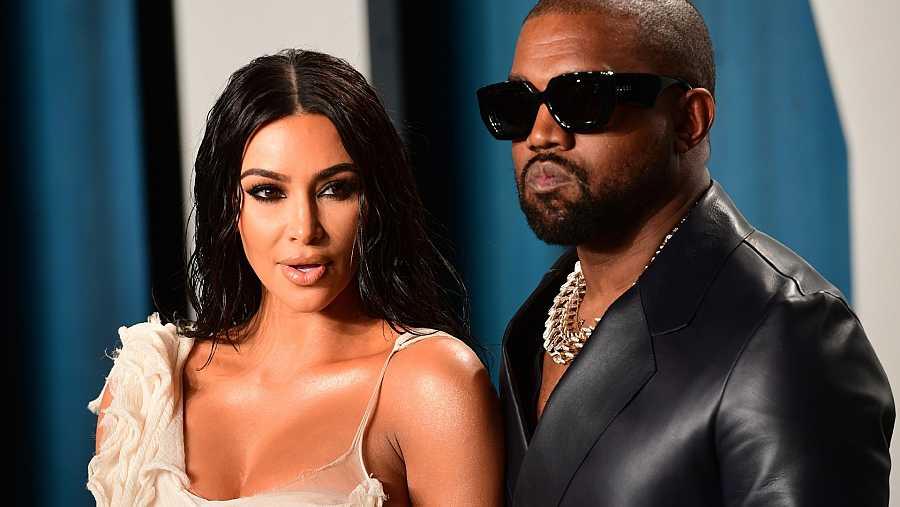 Kim y Kanye atraviesan una dura crisis tras un agitado 2020