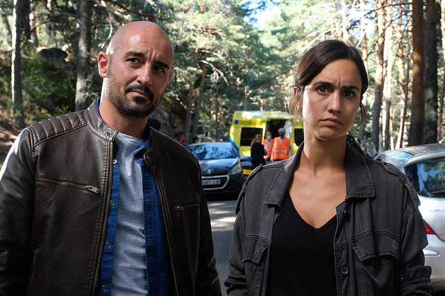 Cabo Gamero y sargento Campos en 'La caza. Tramuntana'