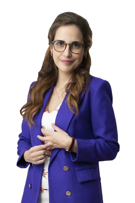 Laura Ledesma es Julia en la ficción