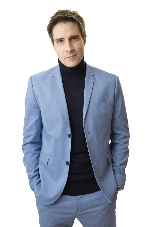 Miguel Brocca interpreta a Sergio en 'Dos vidas'
