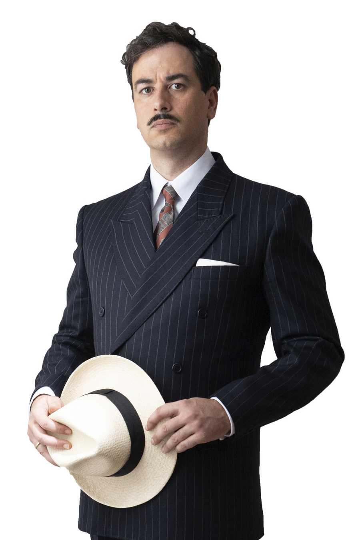 Iago García interpreta a Ventura en la ficción