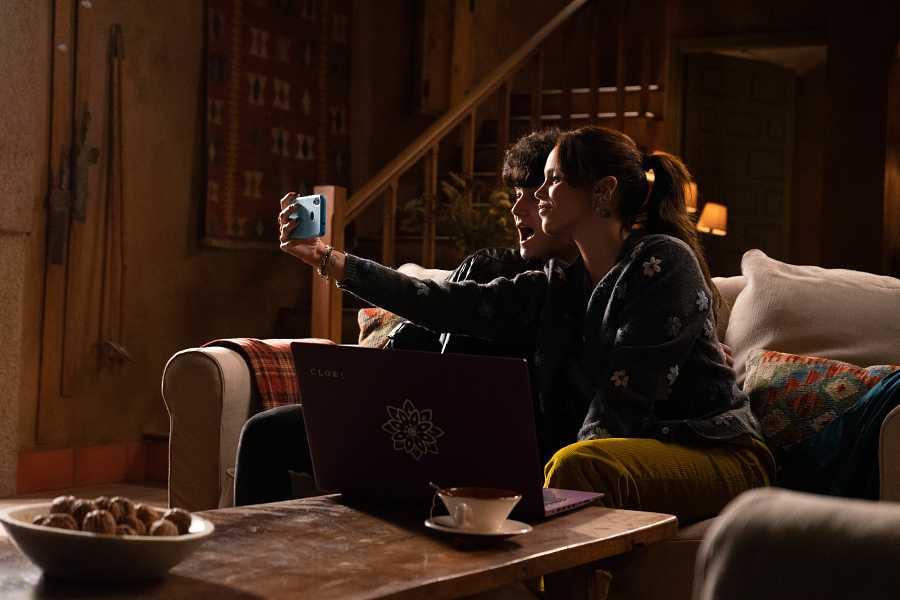 Gloria Camila durante una escena de 'Dos vidas'