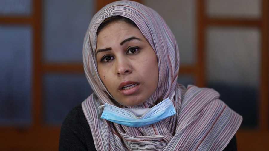 Niveen Al Kafarna, coordinadora de Proyectos de la Unión de Comités de Mujeres Palestinas