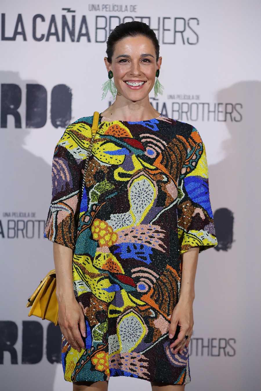 Raquel Sánchez Silva con un vestido de la colección Costa Rica de Juan Duyos
