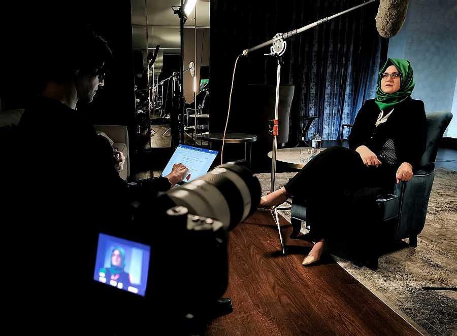 Entrevista con Hatice Cengiz, prometida de Jamal Khashoggi
