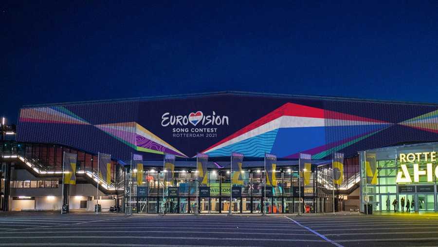 El Ahoy Arena de Róterdam acogerá las semifinales y la final de Eurovisión 2021.