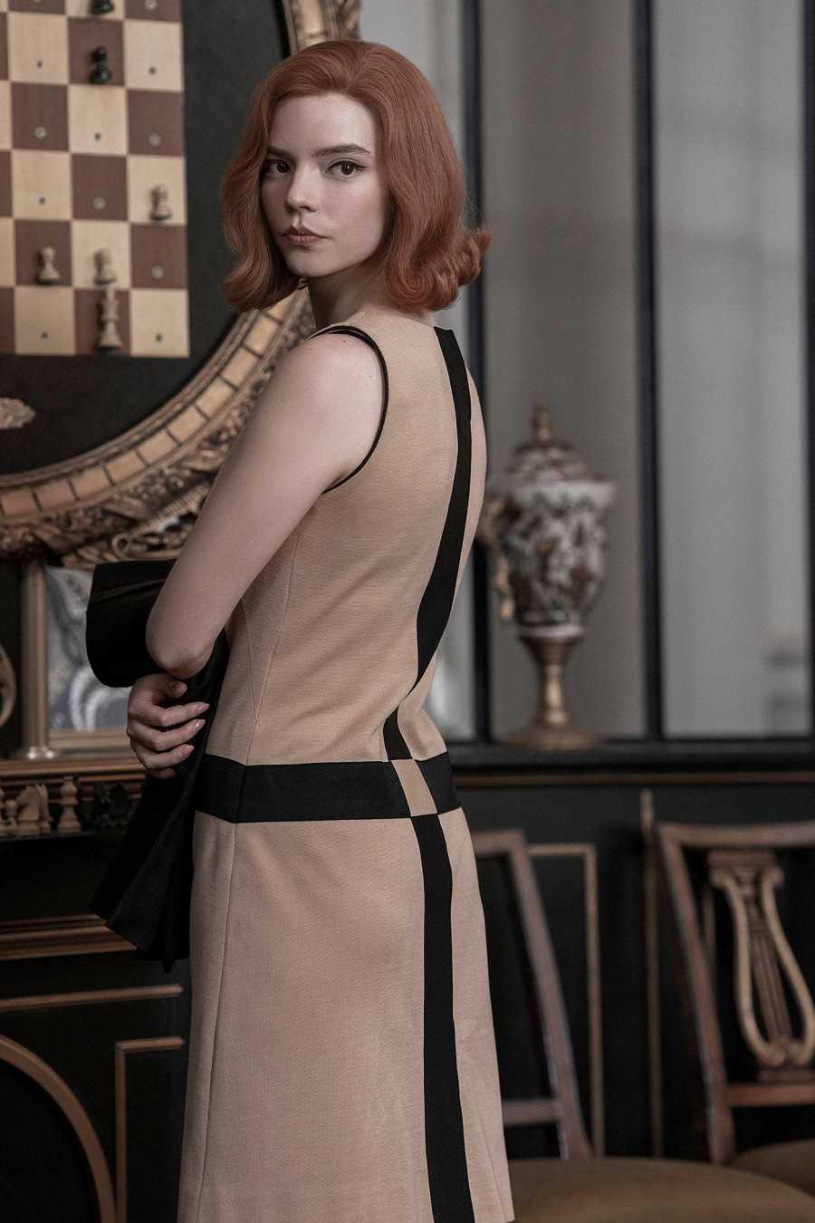 Anya Taylor-Joy en la serie 'Gambito de Dama'
