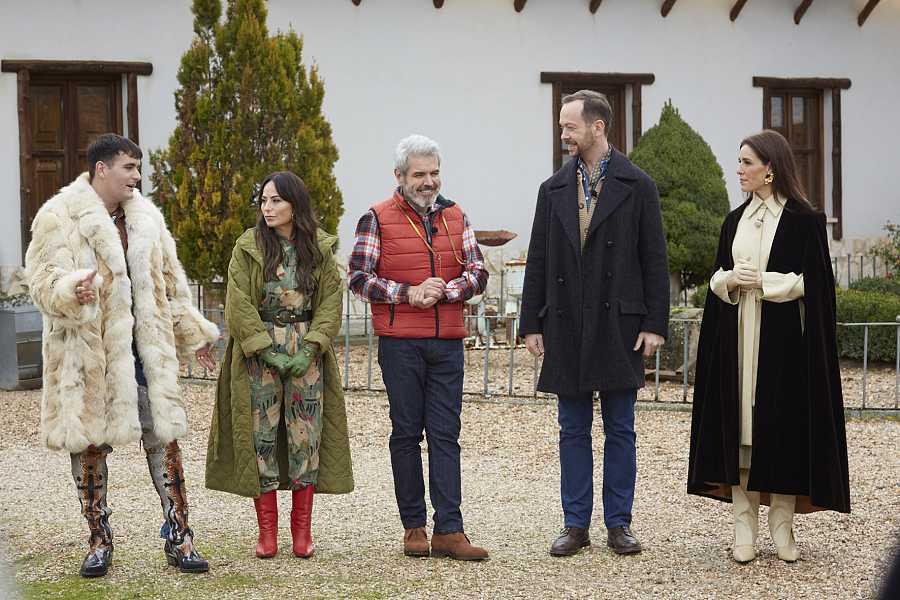 Jueces en la bodega de Valladolid