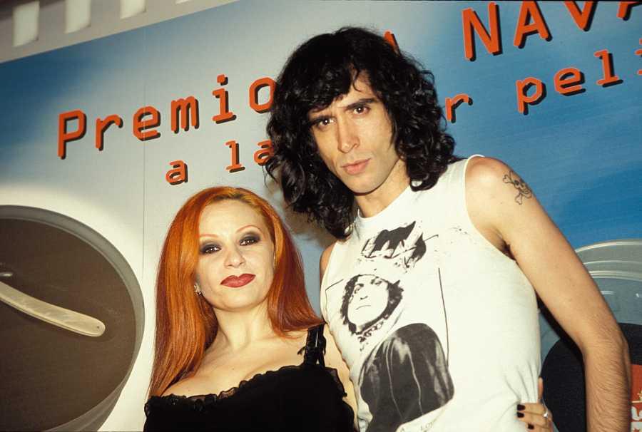 Mario Vaquerizo y Alaska en el año 2000