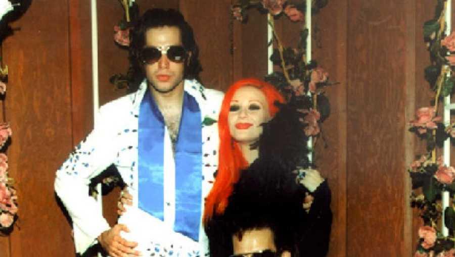 Boda de Alaska y Mario en Las Vegas en 1999