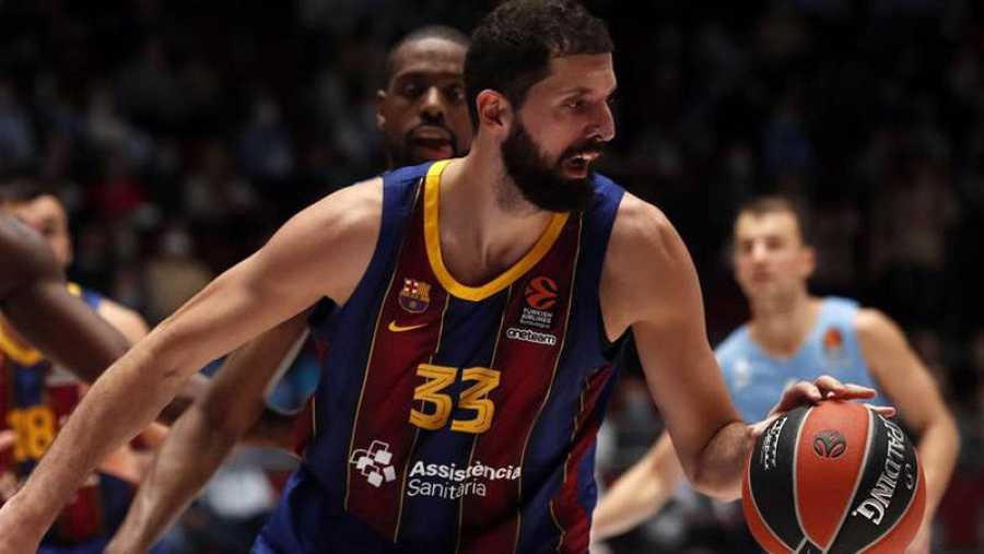 Nikola Mirotic, la estrella que más brilla en el Barça.