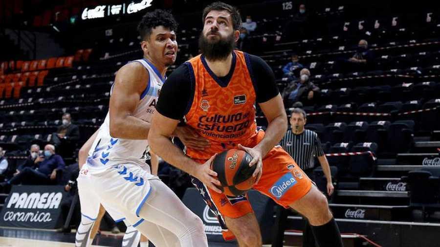 Dubljevic, el líder del Valencia Basket.