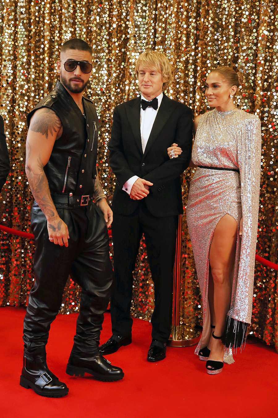 Maluma, Owen Wilson y Jennifer López, protagonistas de 'Marry me'