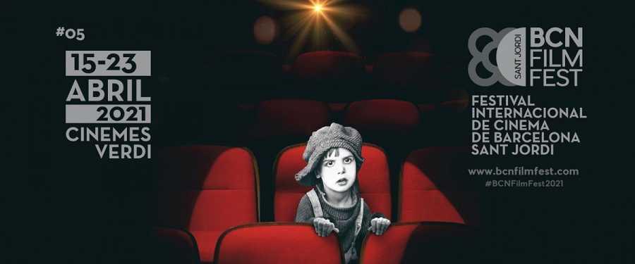 Cartell oficial del BCN FILM FEST 2021