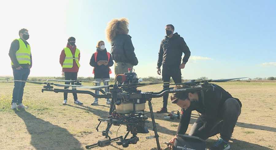 Los drones tienen cada vez más utilidades