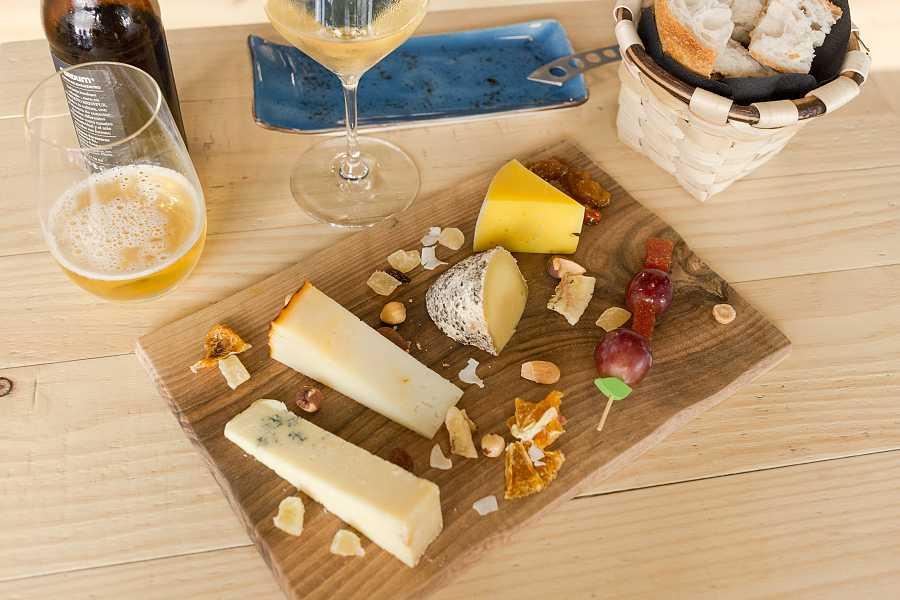 Tabla de quesos Qava
