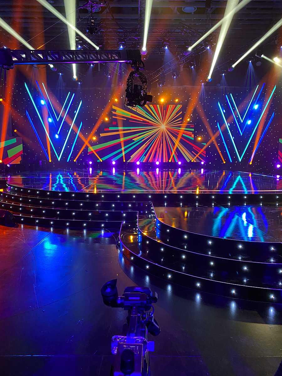 Así es el escenario de 'Destino Eurovisión'