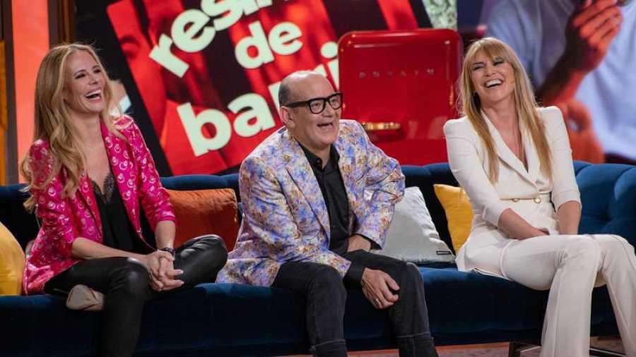 Paula Vázquez, José Corbacho y Raquel Meroño