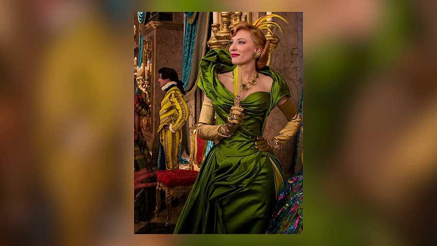Cate Blanchett con un diseño de Sandy Powell