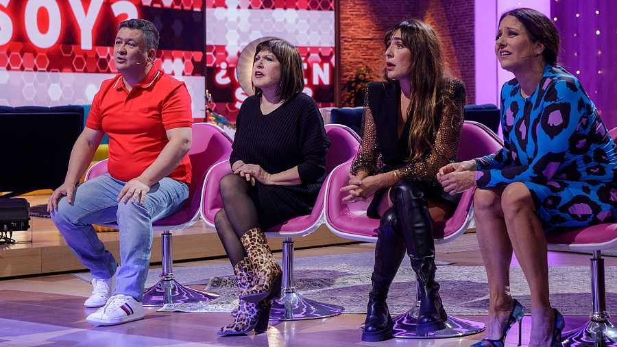 Secun de la Rosa, Loles León, Candela Peña y Yolanda Ramos