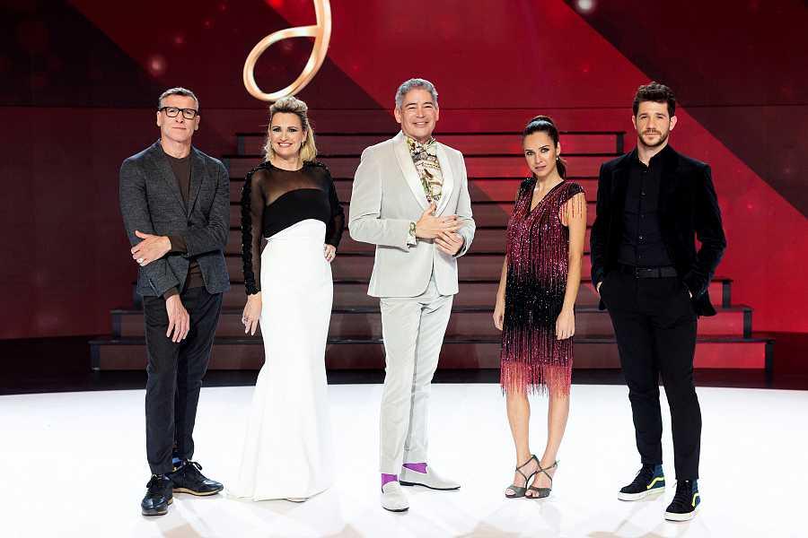 Nacho Duato, Ainhoa Arteta, Boris Izaguirre, Paula Prendes y Andrés Salado en 'Prodigios'