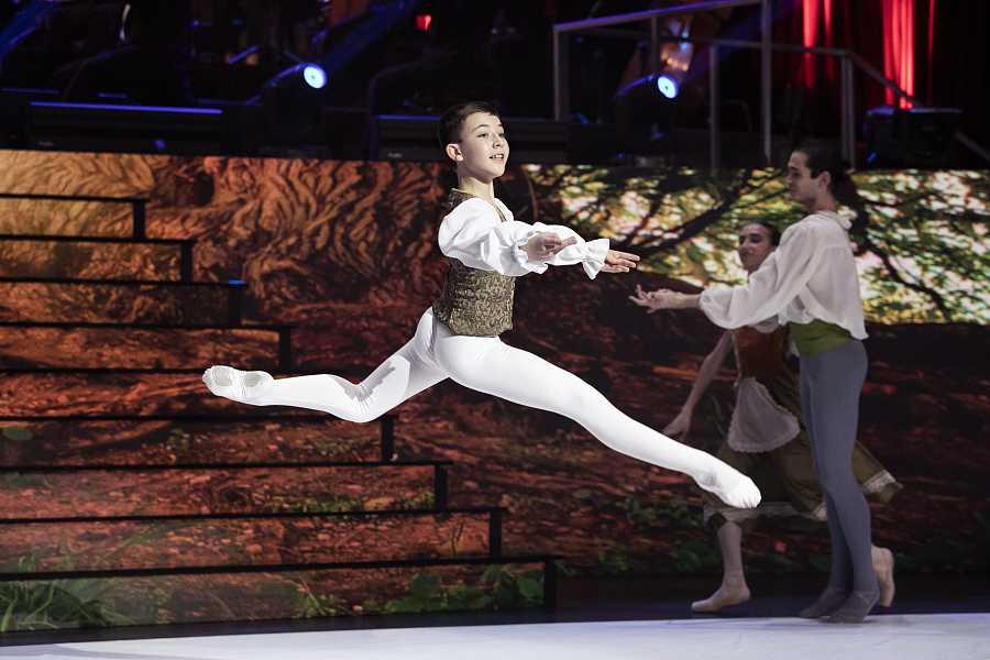 La danza, una de las disciplinas de 'Prodigios'