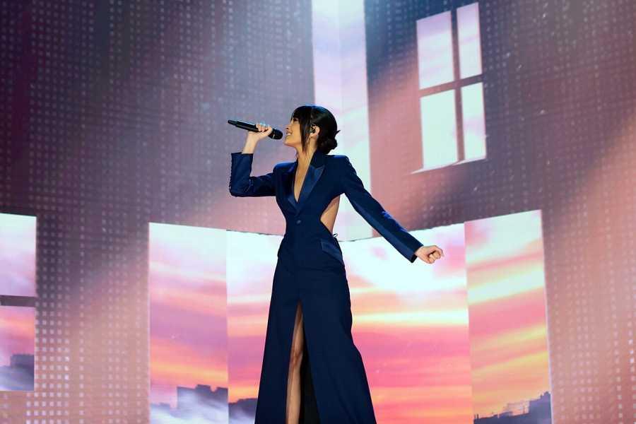 Aitana: Actuación en la Gala de los Premios Goya 2021