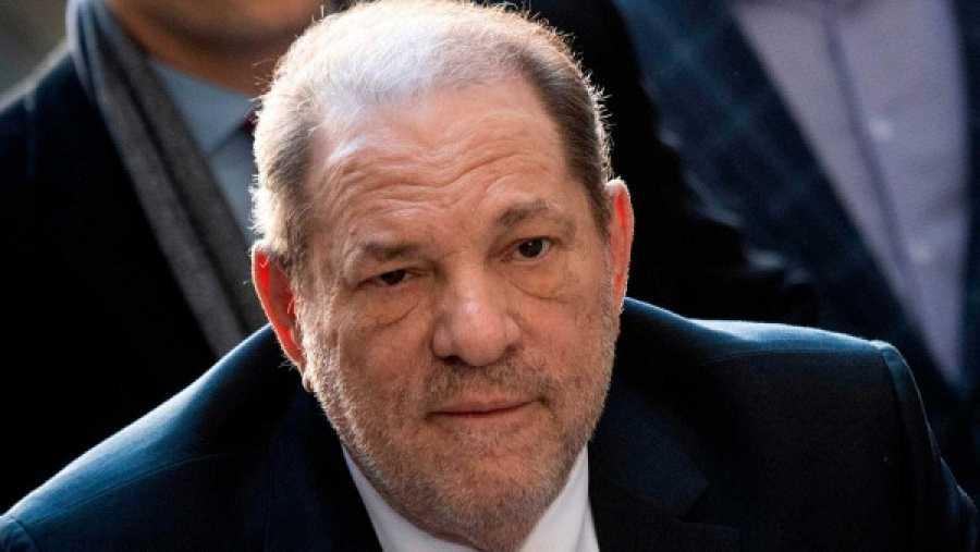 Harvey Weinstein en el juicio en el que se le condenó a 23 años de prisión