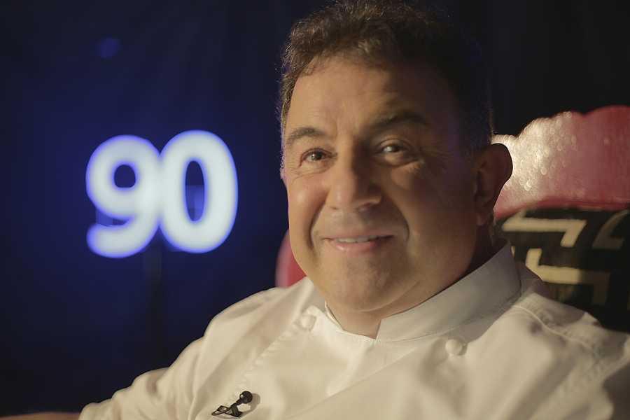 El chef Martín Berasategui en 'Novéntame otra vez'
