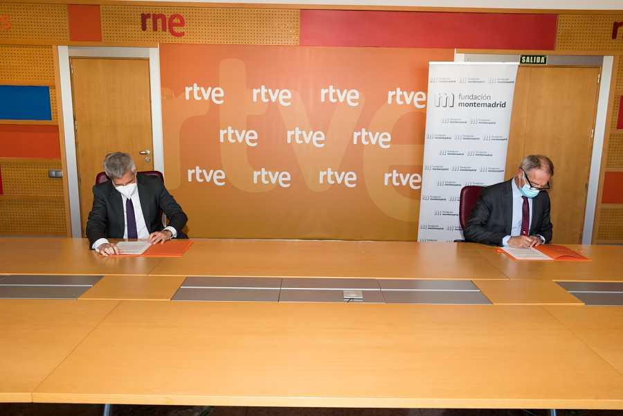 RNE y la Fundación Montemadrid han renovado su acuerdo