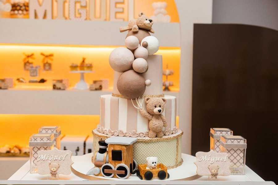 La increíble tarta de la 'baby shower' de Paula Echevarría
