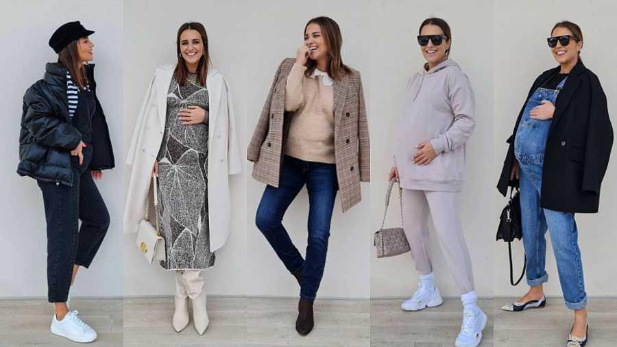 Looks de embarazada de Paula Echevarría a través de IG