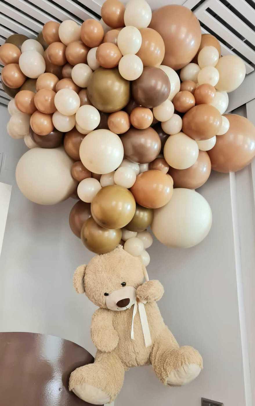 Parte de la decoración de la 'baby shower' de Paula Echevarría