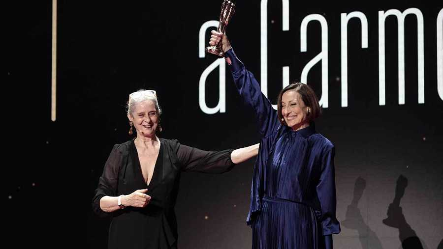 Gaudí d'Honor per a Carme Elías