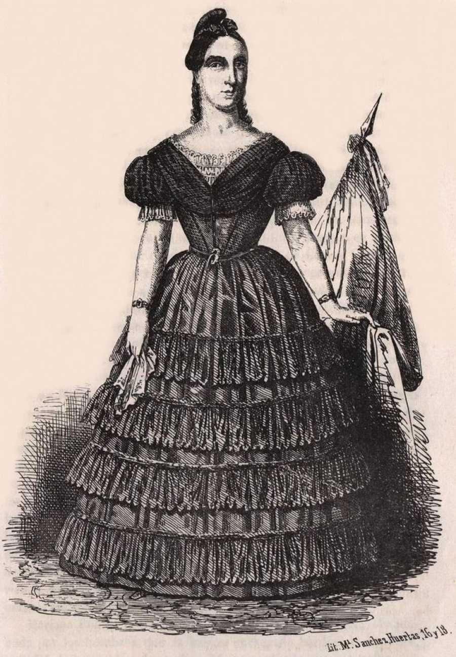 Mariana Pineda, inmortalizada en el famoso grabado de Sanchez Huertas
