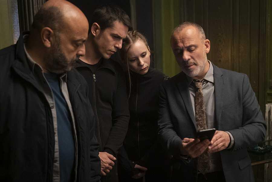 Márquez, Sebas, Carlota y el Enlace